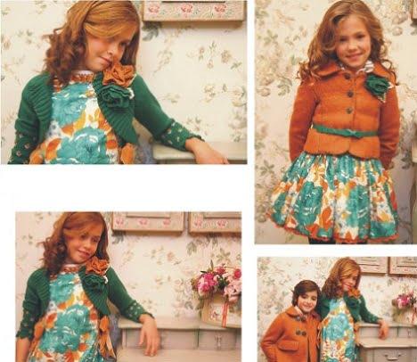 catalogo larrana otono invierno 2012 2013 naranja