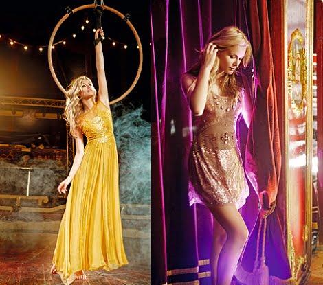 catalogo bdba otono invierno 2012 2013 vestido amarillo