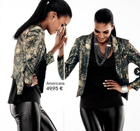 catalogo hm ropa fiesta leopardo
