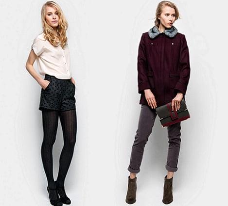 catalogo naf naf otoño invierno 2012 2013 shorts