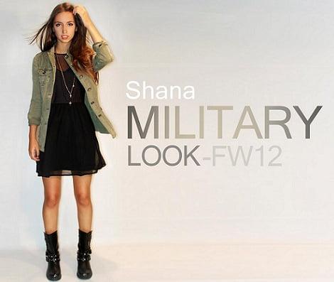 catálogo shana otoño invierno 2012 2013 militar