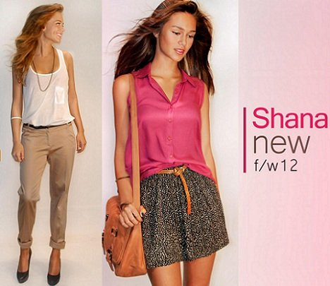catálogo shana otoño invierno 2012 2013 shorts