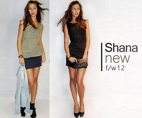 catálogo shana otoño invierno 2012 2013 vestido
