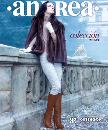 652c0c16 Catálogo zapatos Andrea otoño invierno 2012 2013 – Catálogos de Moda