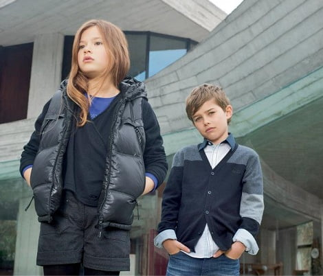 Catálogo El Corte Inglés moda infantil; Hugo Boss