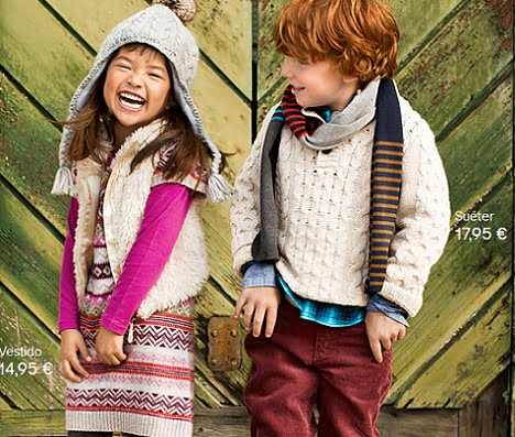 catalogo hm niños otoño invierno 2012 2013 vestido