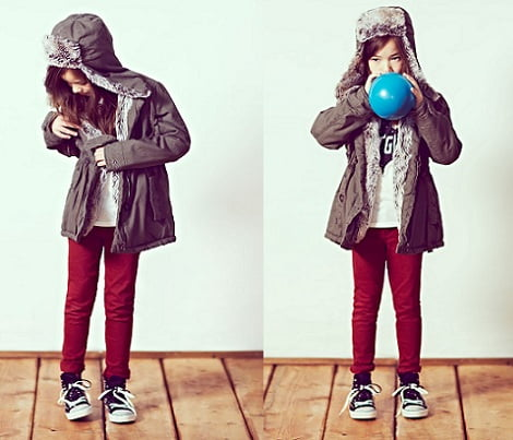 catalogo pull and bear ninos invierno 2013 parka