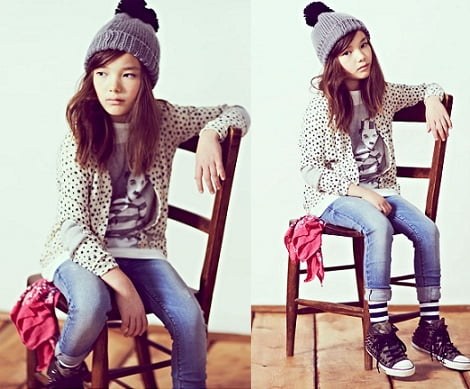 catalogo pull and bear ninos invierno 2013 tachas