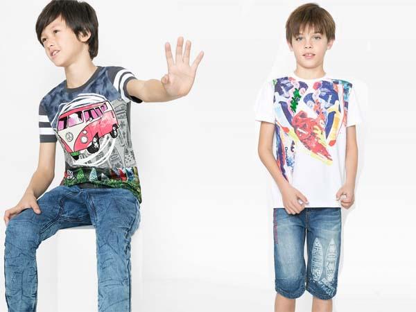 camisetas-nino-desigual-verano