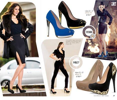 catalogo zapatos andrea otoño invierno 2012 2013 tachas